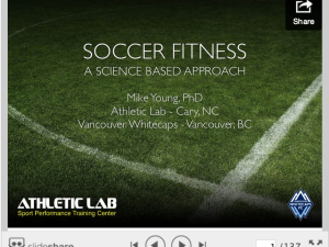 Mike Young's Soccer Fitness: A Science Based Approach