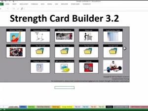 NEW: Strength Card Builder 3.2