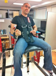 Exercise Physiology laboratory, Canada 2013
