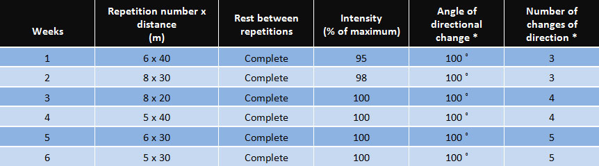 table-training-program-overview