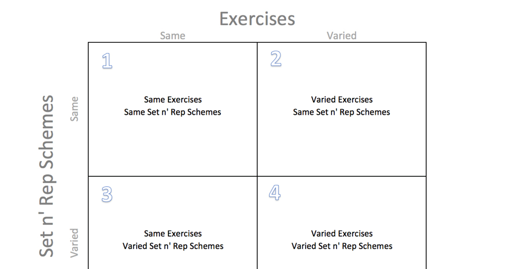 Daily undulating framework duf complementary training for Undulating periodization template