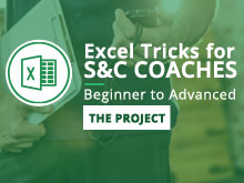 Excel Tricks for S&C Coaches: Beginner to Advanced – Module 4: The Project