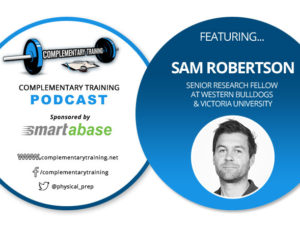 Podcast #10: Interview with Sam Robertson