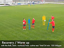 How to Recover or Warm Up With the Ball