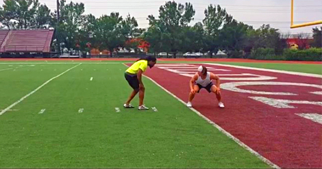 Sprint Catch Drills - Complementary Training