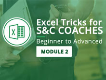 Excel Tricks for S&C Coaches: Beginner to Advanced – Module 2