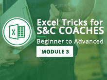 Excel Tricks for S&C Coaches: Beginner to Advanced – Module 3