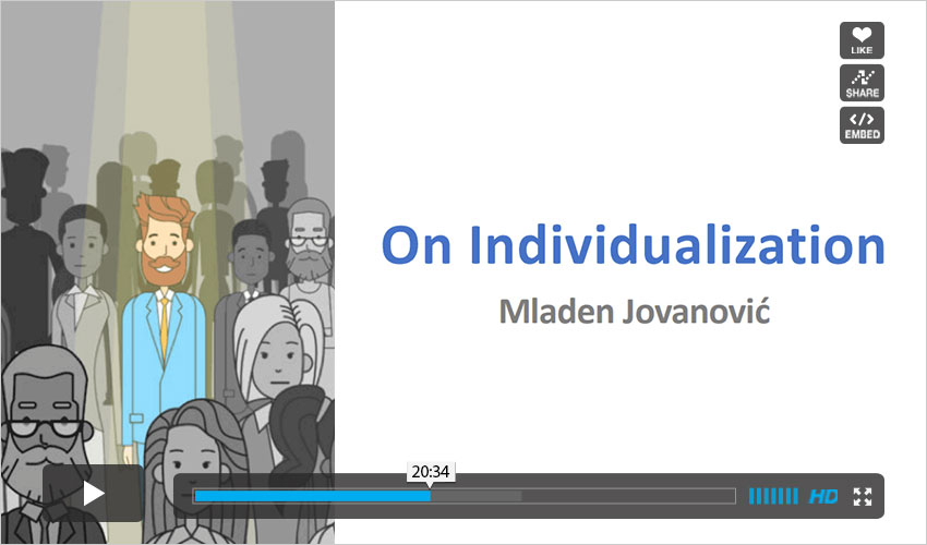 on-individualization-video