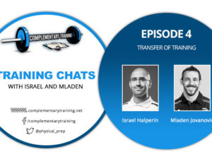 Training Chats with Israel and Mladen – Episode 4: Transfer of Training
