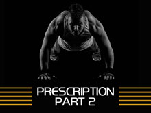 Strength Training Manual: Prescription – Part 2