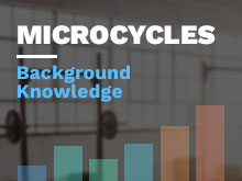 Microcycles Course: Background Knowledge