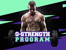 New Product – G-Strength Program