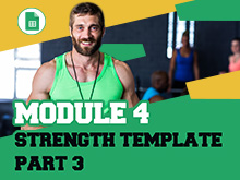 Google Sheets for Sports Science Course – Strength Template Part 3