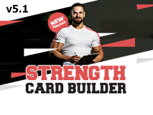 Strength Card Builder v5.1 is Here!