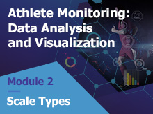 Athlete Monitoring: Data Analysis and Visualization – Scale Types
