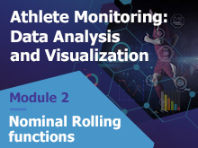 Athlete Monitoring: Data Analysis and Visualization – Nominal Rolling Functions